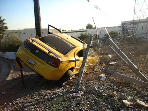 Dodge Charger Daytona Crash Youtube