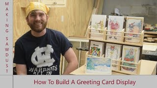 How To Build A Greeting Card Display