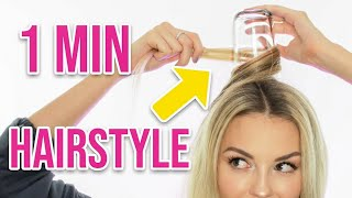 1 MINUTE HAIRSTYLE getestet | Was können die 5-Minute Crafts Girly Hacks? | XLAETA