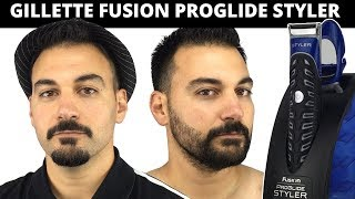 Beard Trimming - Gillette Fusion Proglide Styler Review