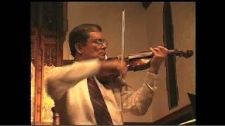 Sleep of Infant Jesus - Violin, Organ, Harp