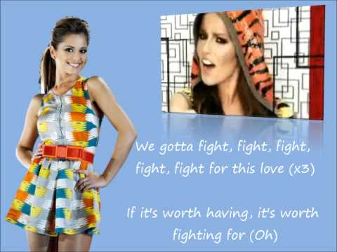 Cheryl Cole - Fight For This Love Lyrics & Official Music Video