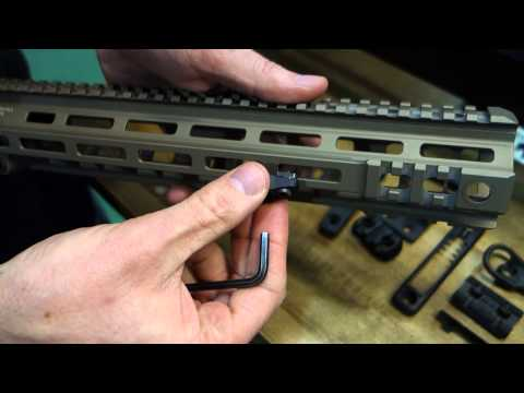 MagPul M-LOK Accessories Mounting System Demo at SHOT Show 2015