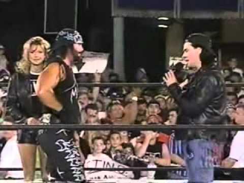 Randy Savage confronts Eric Bischoff - WCW Monday Nitro - 3/16/98