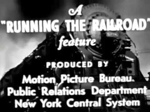 """The Steam Locomotive"" - 1940s New York Central RailRoad Film"