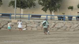 Раннее утро на пляже Аликанте, Испания, Постигет, Postiguet, Сергей Езовский spaintur tv(Ранним, ранним утречком 24 августа, я проснулся как ужаленный шилом и понял-хочу пойти на пляж Постигет (Postigue..., 2016-08-25T12:21:46.000Z)