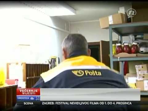 Hrvatska pošta - poštar Mile iz Matulja