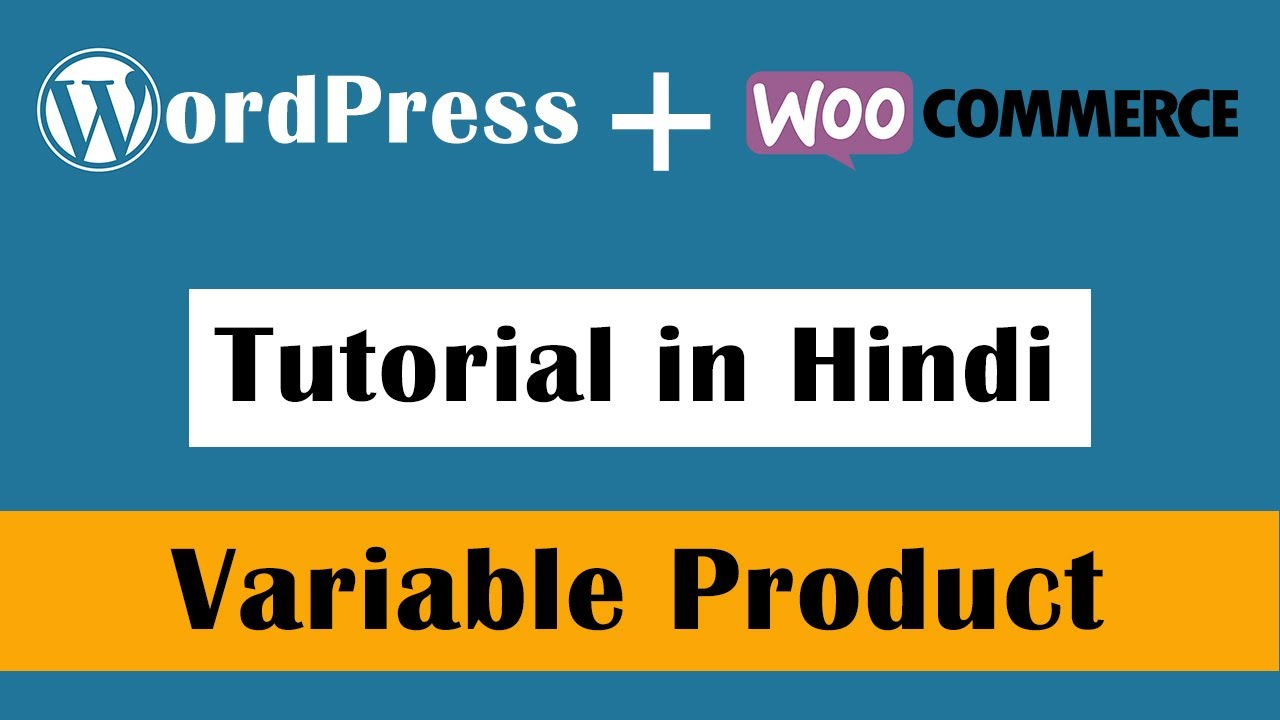How to add Variable Product in WooCommerce