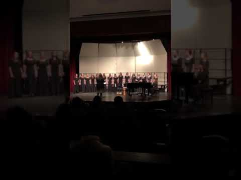 """Andale High School Chamber Singers """"Lullaby"""""""