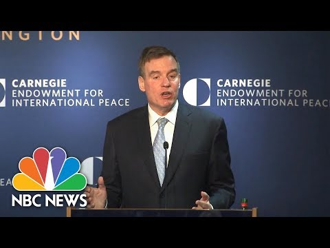 Senator Mark Warner Explains How Current Russia Threat Differs From Cold War | NBC News