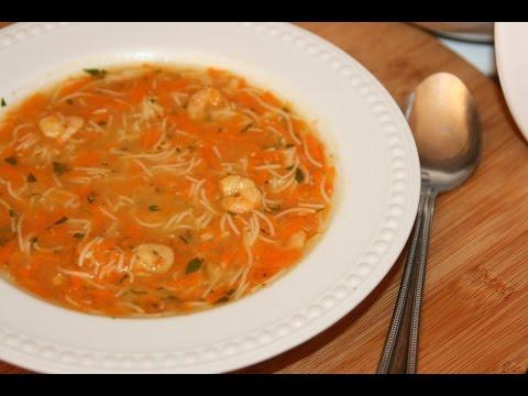 recette soupe aux crevettes carottes shrimp carrot soup recipe recettes maroc youtube. Black Bedroom Furniture Sets. Home Design Ideas
