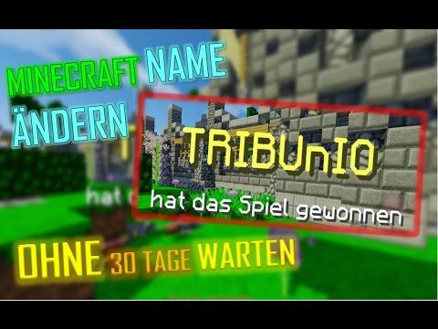 MINECRAFT NAME ÄNDERN OHNE TAGE WARTEN MC BUG - Minecraft namen andern auf server