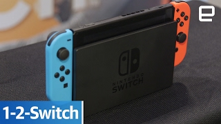 Nintendo 1-2-Switch: Hands-on