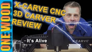 ★ X Carve Cnc 3d Carver Review From Inventables, See How To Build An X-carve