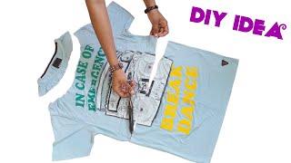 DIY IDEA From T-shirt // New Idea // Best Re Use Idea // By Hand made Ideas