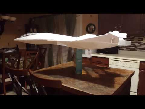 The Hyperhybrid fighter jet from the movie Independence day Resurgence