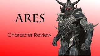 Repeat youtube video Injustice iOS *NEW CHARACTER* Ares Character Review