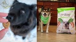 What I Feed My Vegan Dogs | V-Dog Vegan Dog Food Review