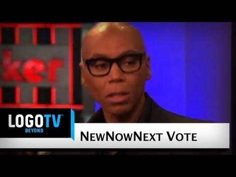 RuPaul talks about Mitt Romney - NewNowNext Vote - LogoTV