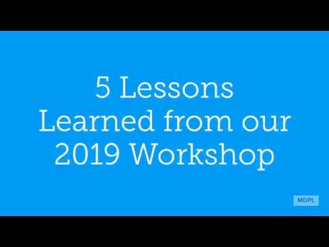 5 Lessons Learned 2019 Resiliency Workshop