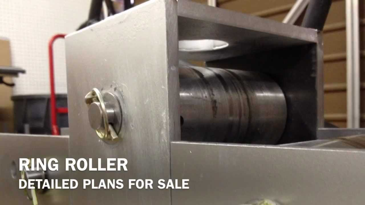 Diy Metal Roller Ring Roller Overview Youtube
