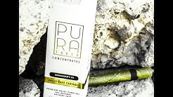 Medical marijuana vape pen  Pura earth uncut solvent free cartridge review