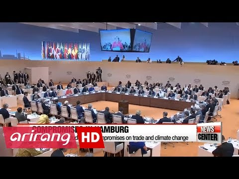 G20 Summit in Hamburg concludes with compromise on trade and climate change