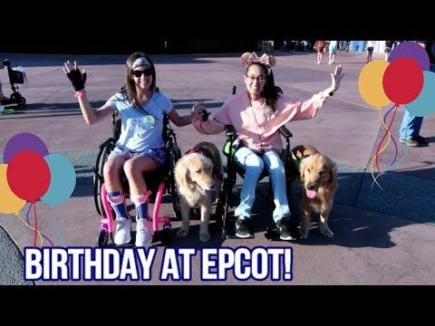 Chronic Illness WON'T STOP ME!   Disney Birthday Celebration 🎉 (3/17/18)