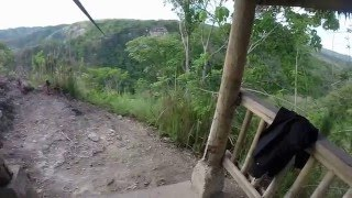 filipiny wyspa bohol zipline