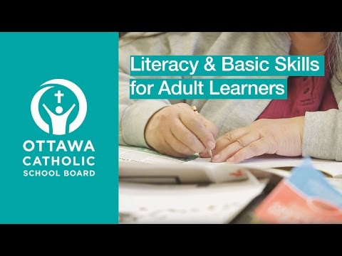 Literacy & Basic Skills For Adults At The OCSB