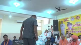 ABVGM Gurjar SanjayDedha Usmanpuriya At 2nd Veer Gurjar Mahasammelan 10 May 2015 Faridabad