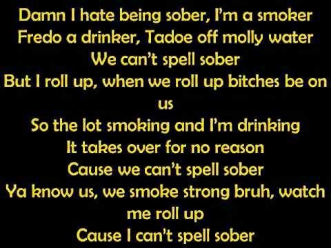 Chief Keef  Hate being Sober [Lyrics] ft. Wiz Khalifa & 50 Cent