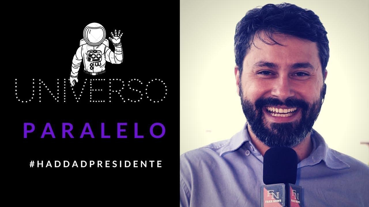 REPÓRTER ZOEIRO - UNIVERSO PARALELO - HADDAD GANHOU