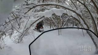 Фильм на снежиках!