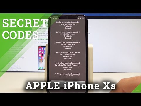 Secret Codes IPhone Xs - Hidden Modes / Secret Options / IOS Codes