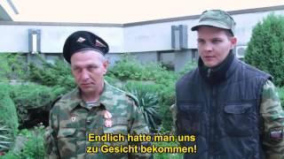 Ukraine: Korsun. 20.2.2014: Maidanfaschisten vollführten Pogrome vor dem Genozid.