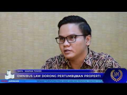OMNIBUS LAW DORONG PERTUMBUHAN PROPERTI