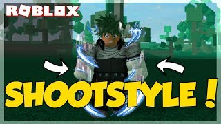 SHOOTSTYLE! | Gamma Suit ShowCase | Roblox Heros Online