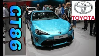 Toyota GT86 Coupe Racing Edition Thunder Blue NEW 2019