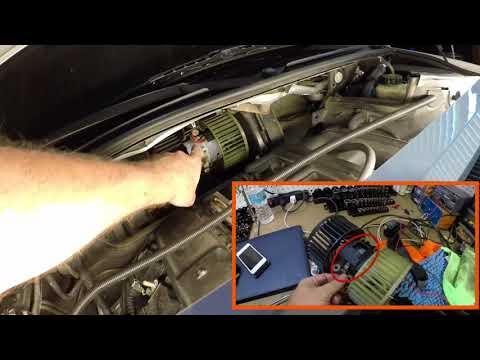 BMW E46 Heater Blower Motor Replacement !!! Easy DIY !!!