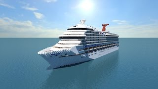 Minecraft: Carnival Triumph Tour - [Full Interior/1:1 Scale] + [Download Link]