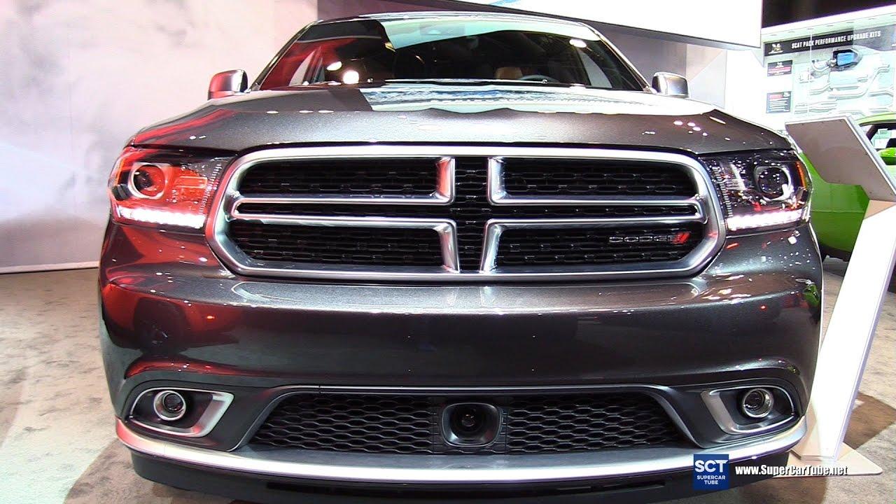 2017 Dodge Durango Citadel Awd Exterior And Interior Walkaround 2017 New York Auto Show