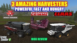 Farming Simulator 17 - Massey Ferguson Pack, Claas Lexion Pack, Grimme Pack