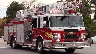 Fire Truck Responding Compilation - Best Of 2016