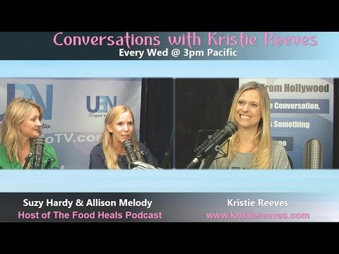 Living a Healthy Lifestyle with Food Heals Nation hosts Allison and Suzy