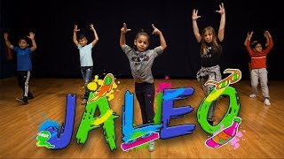 Nicky Jam & Steve Aoki - Jaleo (Dance Video) | Easy Kids Choreography | MihranTV