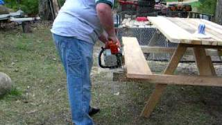 Picnic Table Construction Ii
