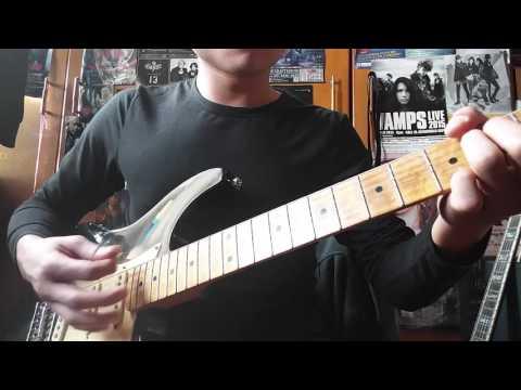 SCANDAL - Morning sun (guitar cover by inoji)