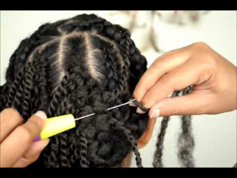 Crochet Braids No Knot Method : How to do your own single box braids on yourself fast and , We use ...