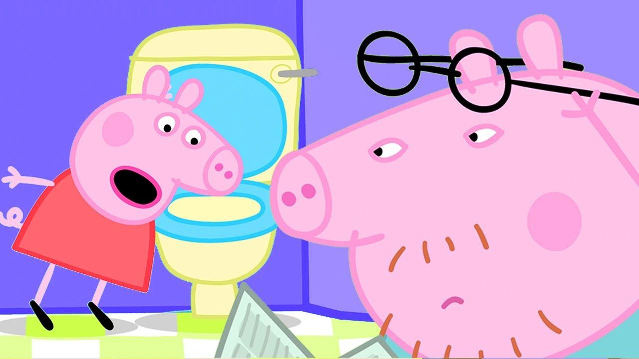 Peppa Pig Español Latino - Papá pierde sus gafas - Pepa la cerdita